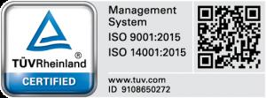 Certificat TUV Rheinland